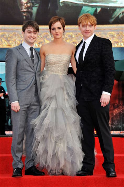 Going To A Harry Potter Premiere Whip Out Some Toe Heels If You Want To Be Like And Co by Watson At The Harry Potter And The Deathly Hallows