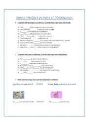 simple present verbal pattern english worksheets verbal tenses simple present and