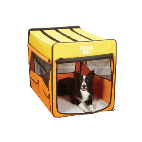 portable dog house soft large portable pet dog house soft crate carrier kennel foldable orange yellow ebay