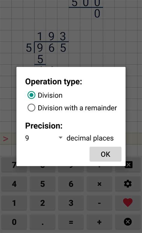 Division calculator Apk Mod No Ads   Android Apk Mods