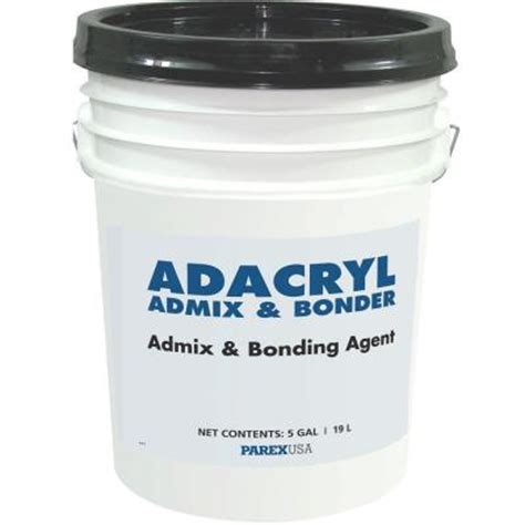 lahabra 5 gal adacryl admix and bonder 2085 the home depot