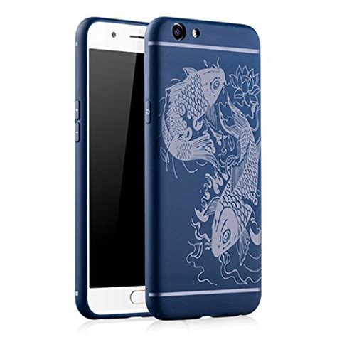 Oppo F1s A59 Silicone Flower Soft oppo f1s a59 a59m exquisite fish pattern shockproof
