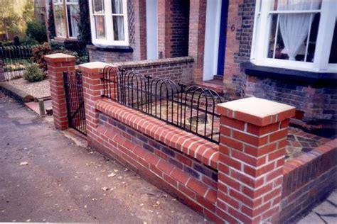 Brick Wall Garden Rg Hewitt Garden Landscaping Front Garden Brick Wall Designs