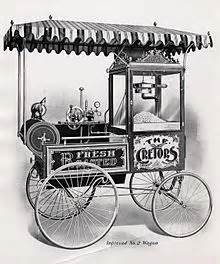 who invented the popcorn machine cretors