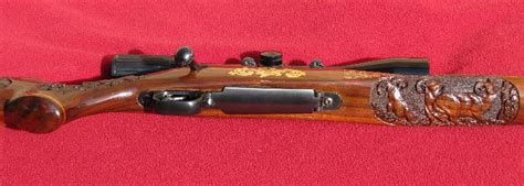 Modem Bolt Di Bec winchester model 70 300 wsm carved stock for sale at gunauction 8945572