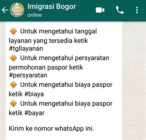 cara membuat paspor online jogja cara membuat paspor anak lewat antrian whatsapp ternyata