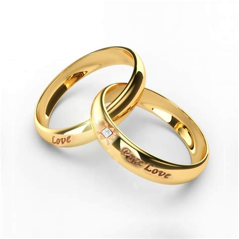 Paar Ringe Gold by Gold Plated Ring