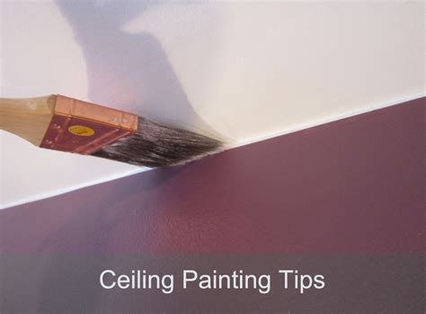 Tips On Painting A Ceiling by How To Paint A Ceiling