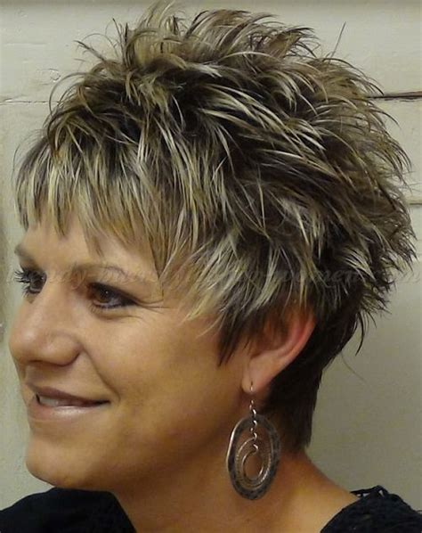 spiky haircuts for women over 50 short spiky hairstyle over 50 hairstyles for women over