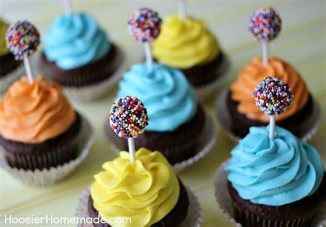 Decorator Icing Kid S Birthday Cupcakes Hoosier Homemade