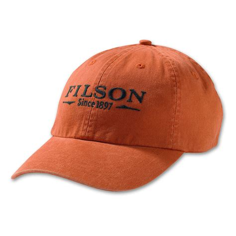 Low Profile Cap filson chino low profile cap