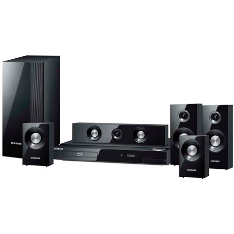 Home Theater Samsung samsung htc330 5 1 ch dvd home theatre system 330w satellite speakers ebay
