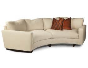 rounded sofa clip curved sofa from thayer coggin