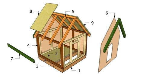 how to build a large dog house plans kaip padaryti šuns būdą