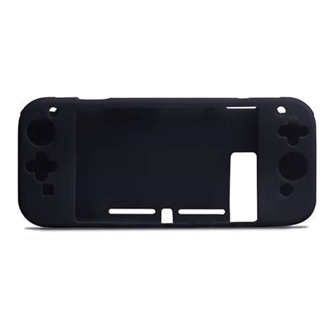 Nintendo Switch Black silicone cover skin for nintendo switch black
