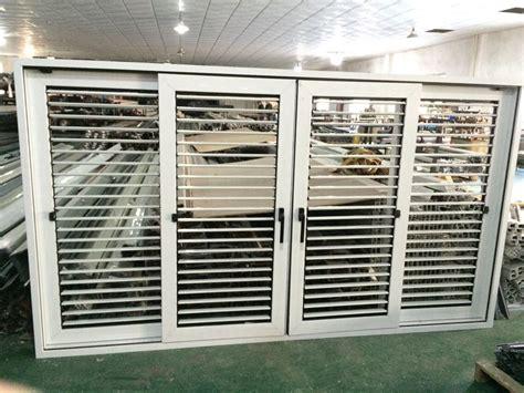 Jalousie Pvc by Aluminum Oval Sliding Shutter Window Jalousie Sliding
