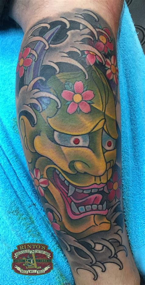 japanese mask tattoo designs japanese hannya by rinto tattoos