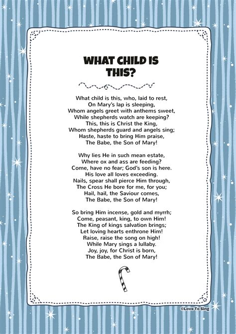printable lyrics we are the world what child is this kids video song with free lyrics