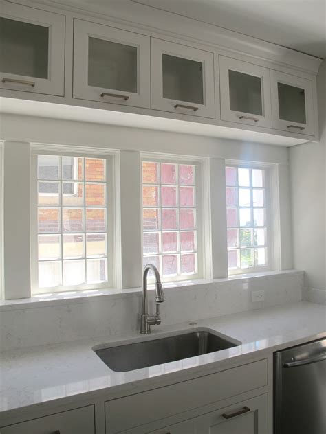 kitchen cabinets with windows white gold before afters c street project ii