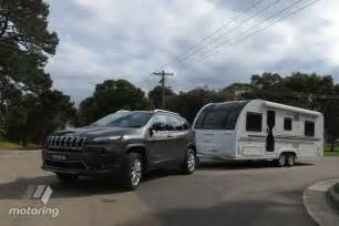 jeep limited crdi 2015 tow test motoring au