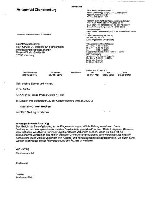 Schreiben Rechtsanwalt Muster Ksp Kanzlei Dr Seegers Dr Frankenheim Rechtsanwaltsgesellschaft Mbh