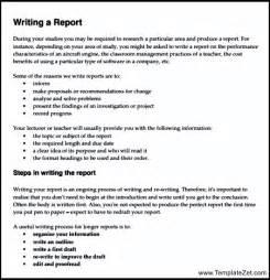 report writing format cbse class 9