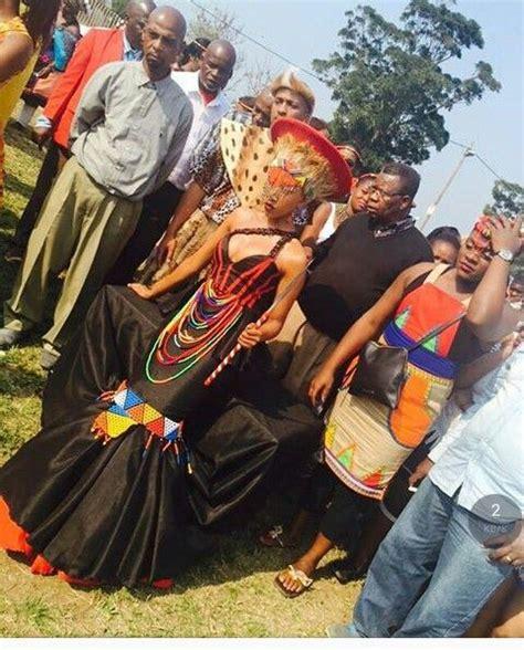 Traditional Wedding Attire Zulu by Pin By Barulaganye Morwaagole On Africa Weddings