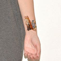 temporary ink tattoos 6 months ink and foxes on