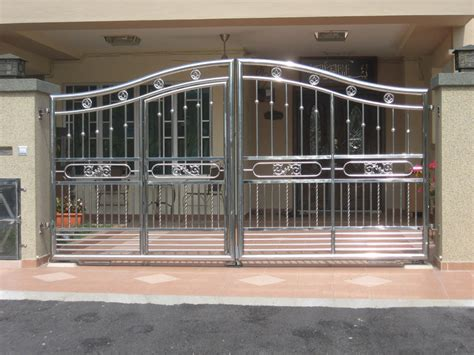 stainless steel gate design buy cheap sliding gate