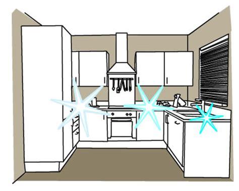 Small U Shaped Kitchen With Island splashback maintenance build