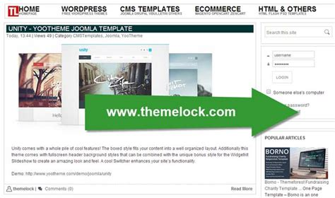 themelock wordpress best site to download free web and email templates
