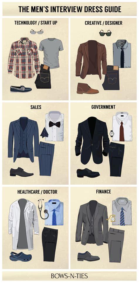 Men?s Interview Dress Code By Top Industries   Bows N Ties.com