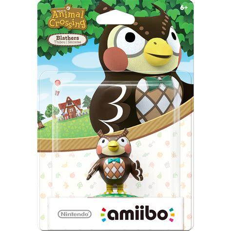Nintendo Amiibo Figures Kapp N Animal Crossing Series nintendo blathers amiibo figure animal crossing series