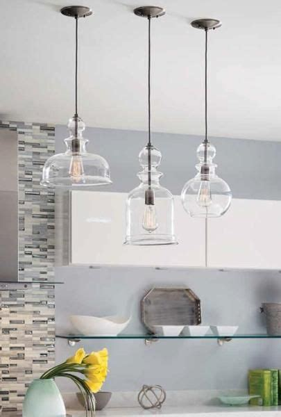 kitchen pendant light ideas best 25 glass pendant light ideas on kitchen