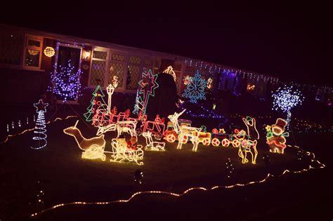 manchester s craziest christmas lights lily kitten