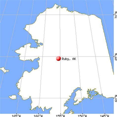 ruby alaska ak  profile population maps real