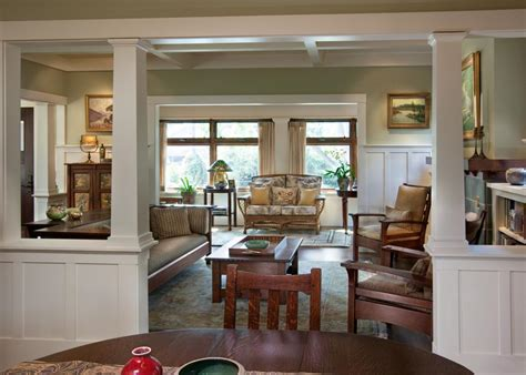 white column framed doorway leading  dining room