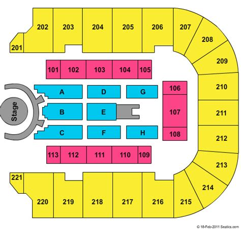 bancorpsouth arena seating map keith bancorpsouth center tickets keith