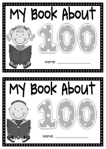 100 days of consistency books made for 1st grade 100th day of school