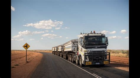 volvo australia volvo trucks 175 tonnes road through the
