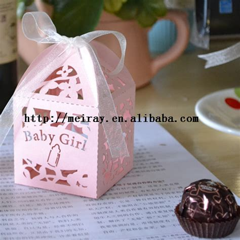Wholesale Baby Shower Favor Boxes by China Wholesale Paper Crafts Baby Shower Boxes