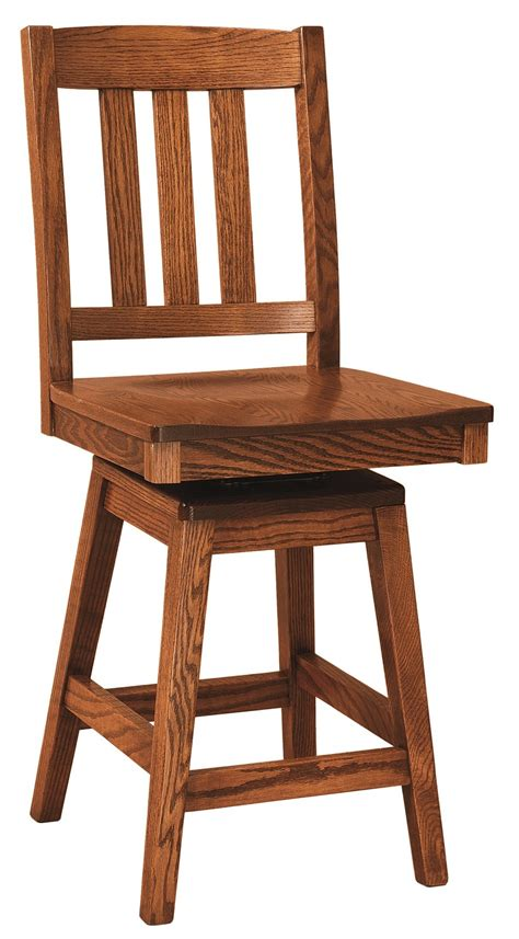 Mission Swivel Bar Stools by Ancient Mission Amish Swivel Bar Stool In Lancaster County