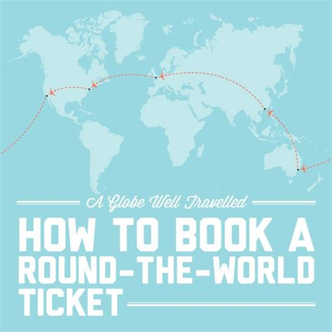 how to book a the world ticket how to book book and