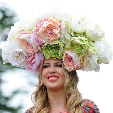 Flower Hat spectacular flower hat ideas for the grand national 2015