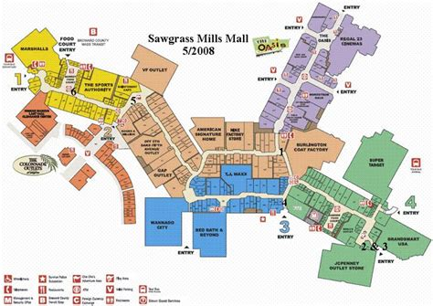 annapolis mall map floor map of sawgrass mills mall business
