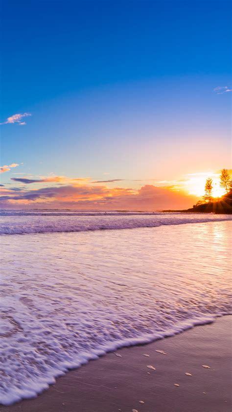 wallpaper burleigh heads beach gold coast queensland