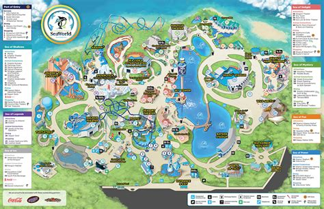 Adventure Of The Seas Floor Plan behind the thrills seaworld orlando map could point to