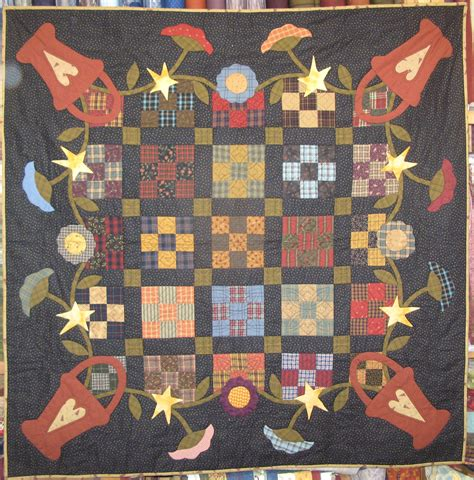 At Home With Country Quilts by Continually At Home With Country Quilts