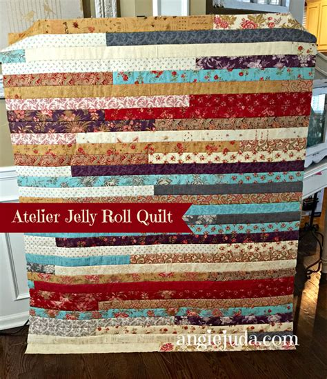 How To Make A Jelly Roll Quilt by Atelier Jelly Roll Quilt