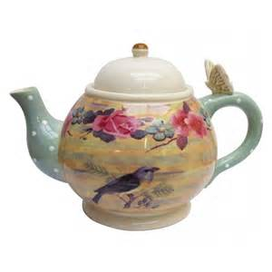 Ideas Design For Teapot L Disaster Designs Songbird Ceramic Teapot Disaster Designs From Mollie Fred Uk